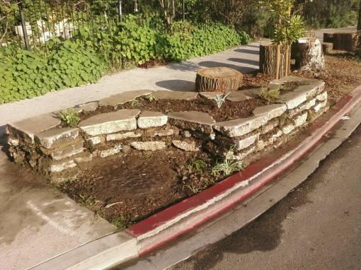 El Muro del Jardin de Nuestra Senora de la Bulbout